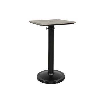 "Skye 24"" x 30"" Pedestal Bar Table"