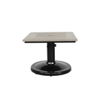 "Skye 24"" x 30"" Pedestal Side Table"