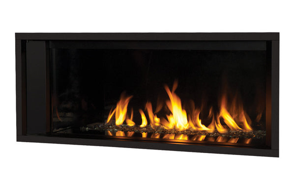Valor Direct Vent L1 Linear Series 2-Sided Gas Fireplace - Glass Set