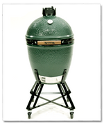 Big Green Egg with nest