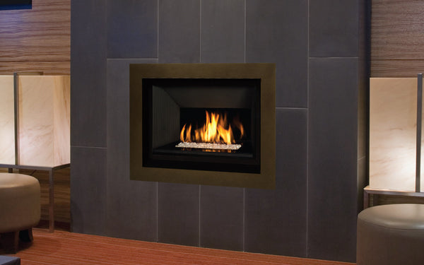 Valor H5 Series Gas Fireplace - Glass Set