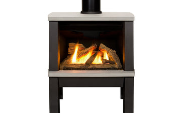Madrona Freestanding Gas Fireplace