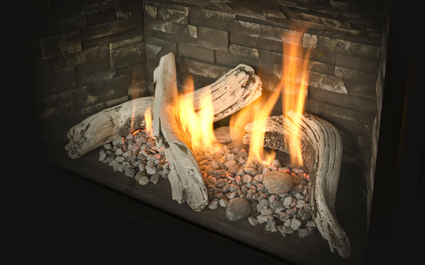Valor H5 Series Gas Fireplace - Log Set