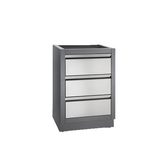 Napoleon 3 Drawer Cabinet For Built In BBQ