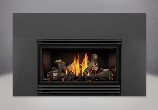 Napoleon Gas Fireplace Insert GDI30 with Black Louvres