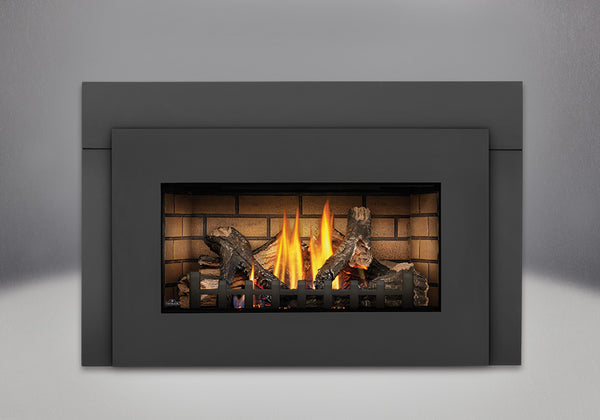 Napoleon Gas Fireplace Insert GDI30 with Black Faceplate