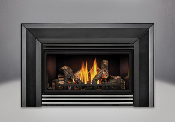 Napoleon Gas Fireplace Insert GDI30 with Stainless Steel Louvres