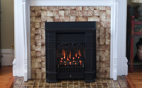 Valor Senator Zero Clearance Gas Fireplace - Log Set