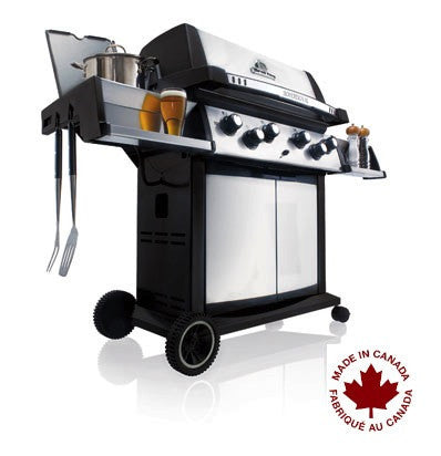 Broil King Sovereign XLS 90 Propane side view
