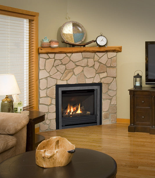 Valor Direct Vent Horizon Series Gas Fireplace - Log Set
