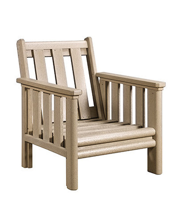 Stratford Deep Seat Chair Beige #07
