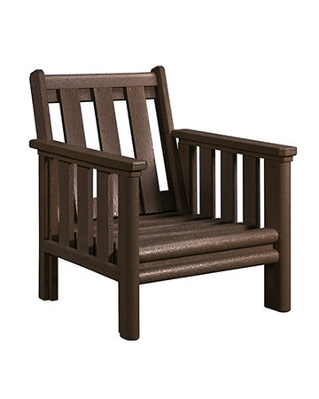 Stratford Deep Seat Chair Chocolate # 16
