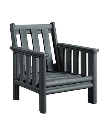 Stratford Deep Seat Chair Slate Grey #18