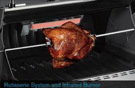 Weber Summit S470 Gas Grill Natural Gas - Rear Burner