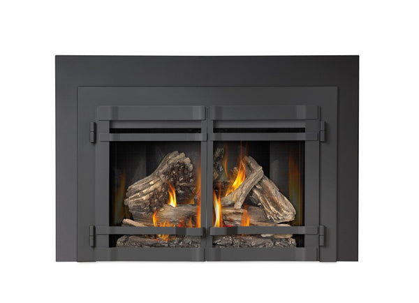 Napoleon Gas Fireplace Insert XIR3-1 Infra Red Series With Double Doors