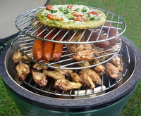 Big Green Egg Tiered Cooking