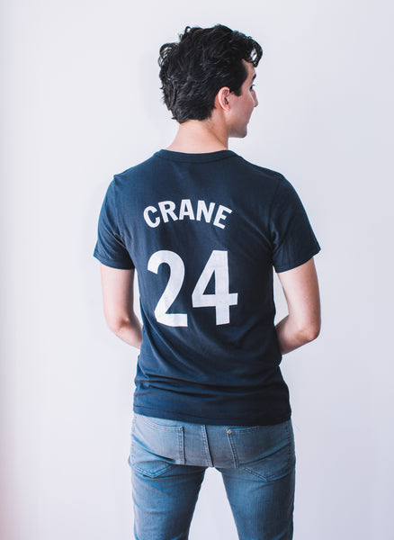 Men's Baseball Tee: Hart Crane #24