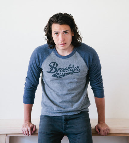 Brooklyn Poets Sweatshirt: Blue