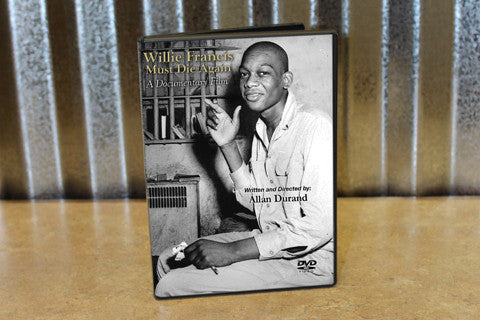 Willie Francis Must Die Again - DVD