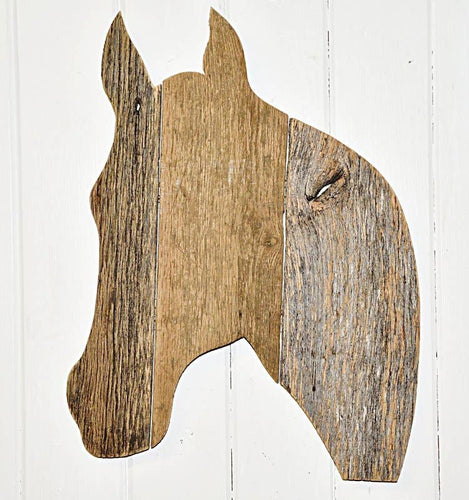 Reclaimed Barn Wood Horse