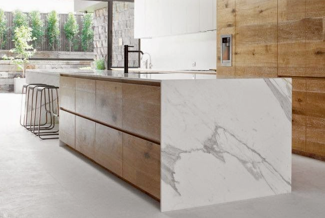 Everything You Need To Know About Waterfall Countertops