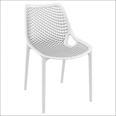 Compamia Air Outdoor Dining Chair White ISP014-WHI