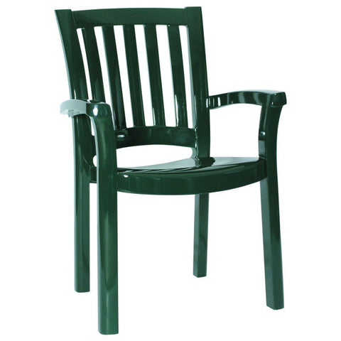 Compamia Sunshine Resin Dining Arm Chair Green ISP015-GRE