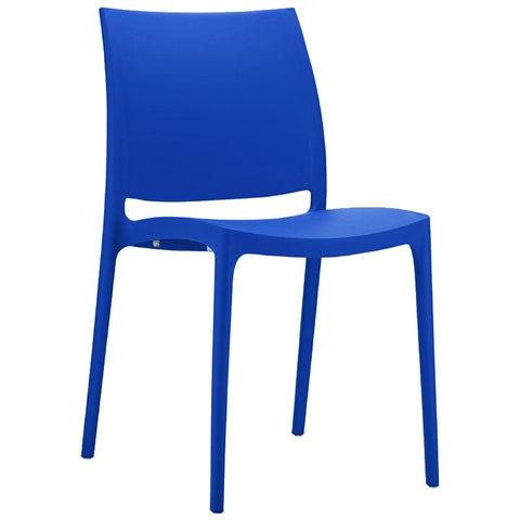 Compamia Maya Dining Chair Dark Blue ISP025-DBL