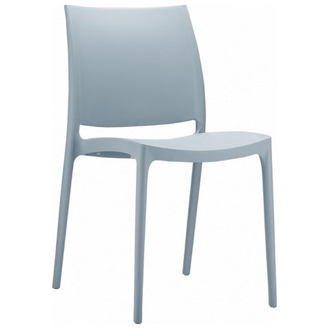 Compamia Maya Dining Chair Silver ISP025-SIL