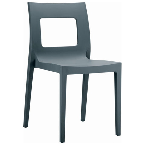 Compamia Lucca Dining Chair Dark Gray ISP026-DGR