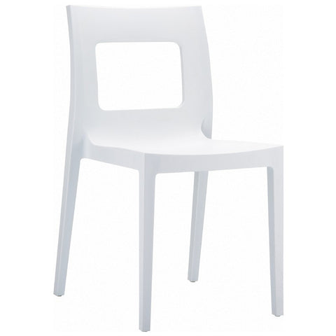 Compamia Lucca Dining Chair White ISP026-WHI