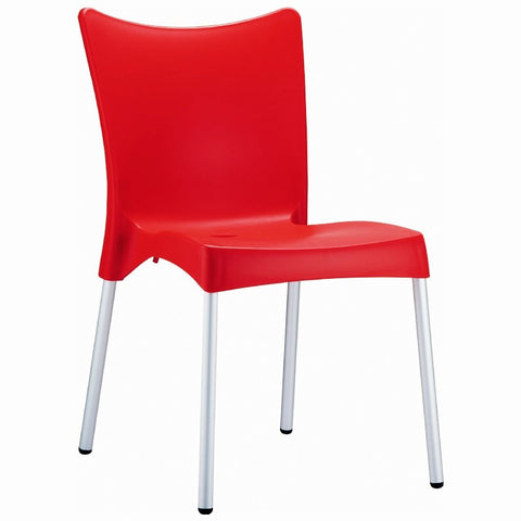 Compamia Juliette Resin Dining Chair Red ISP045-RED