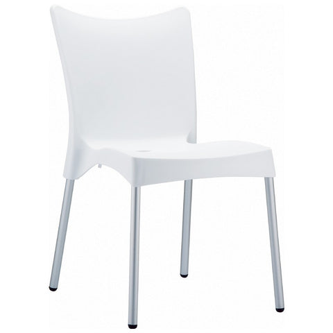 Compamia Juliette Resin Dining Chair White ISP045-WHI
