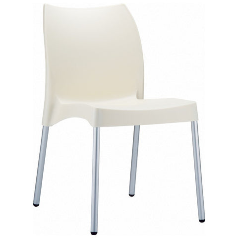 Compamia Vita Resin Outdoor Dining Chair Beige ISP049-BEI