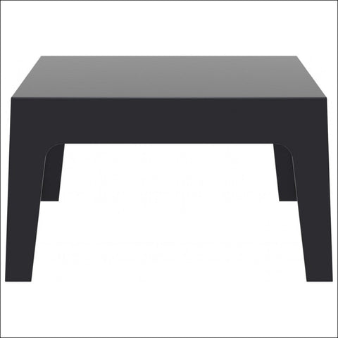 Compamia Box Resin Outdoor Center Table Black ISP064-BLA