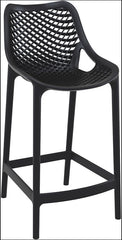 Compamia Air Counter Stool Black ISP067-BLA - YourBarStoolStore + Chairs, Tables and Outdoor  - 1