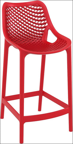 Compamia Air Counter Stool Red ISP067-RED