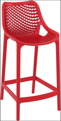 Compamia Air Counter Stool Red ISP067-RED - YourBarStoolStore + Chairs, Tables and Outdoor  - 1