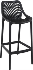 Compamia Air Bar Stool Black ISP068-BLA - YourBarStoolStore + Chairs, Tables and Outdoor  - 1