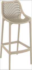 Compamia Air Bar Stool Dove Gray ISP068-DVR - YourBarStoolStore + Chairs, Tables and Outdoor  - 1