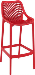 Compamia Air Bar Stool Red ISP068-RED - YourBarStoolStore + Chairs, Tables and Outdoor  - 1
