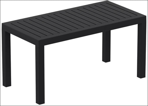 Compamia Ocean Rectangle Cofee Table Black ISP069-BLA