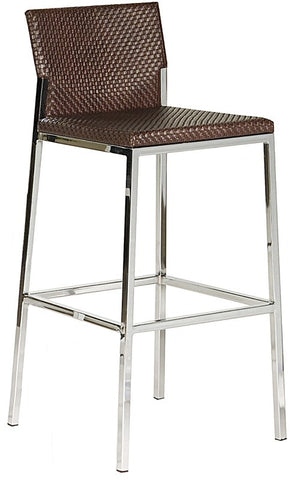 Bellini 25 Inch Barstool Brown 090C-63 BRW