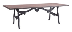 Bellevue Dining Table - Distressed Natural