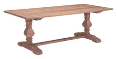 Norfolk Dining Table - Natural Fir