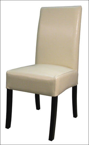 Valencia Leather Chair, Beige