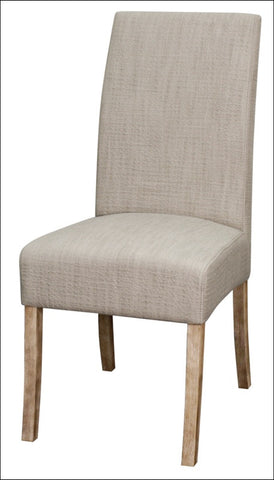Valencia Fabric Chair NWO Legs, Putty