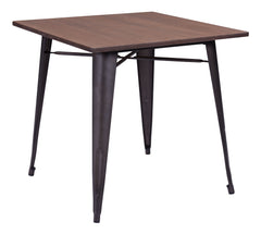 Titus Dining Table - Rustic Wood