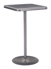 Mallus Bar Table - Gunmetal