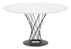 Spiral Dining Table - White